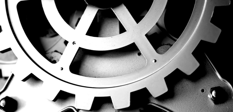 Un détail de la mécanique d'un rouage