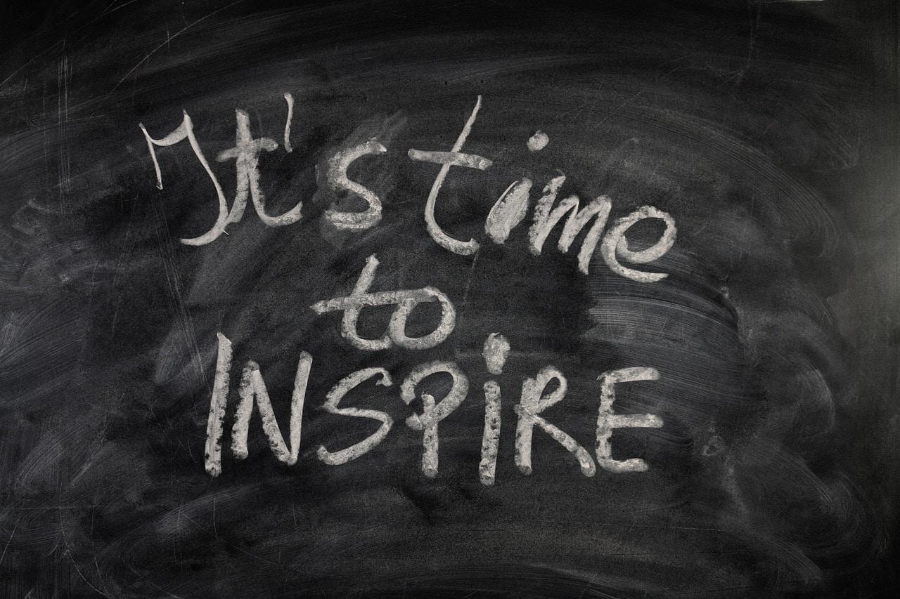 Il est temps d'inspirer