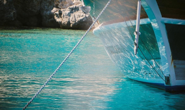Une ancre de bateau