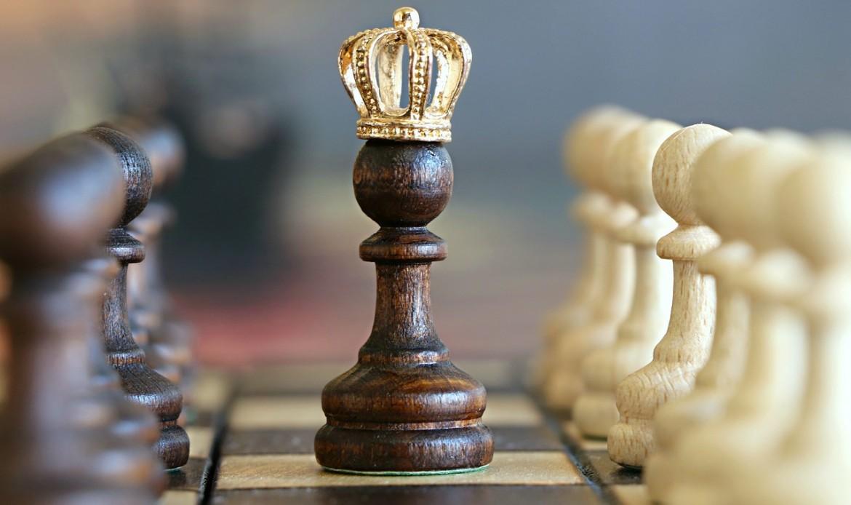 La pièce d'echec le roi