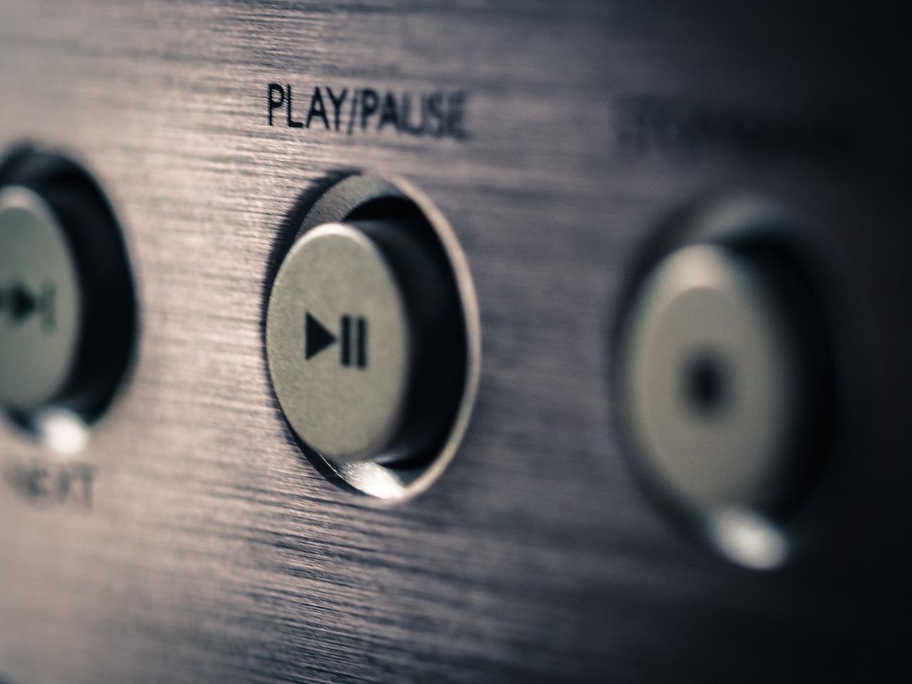 La touche play - pause