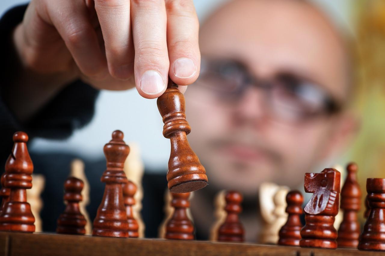 Un joueur d'echec