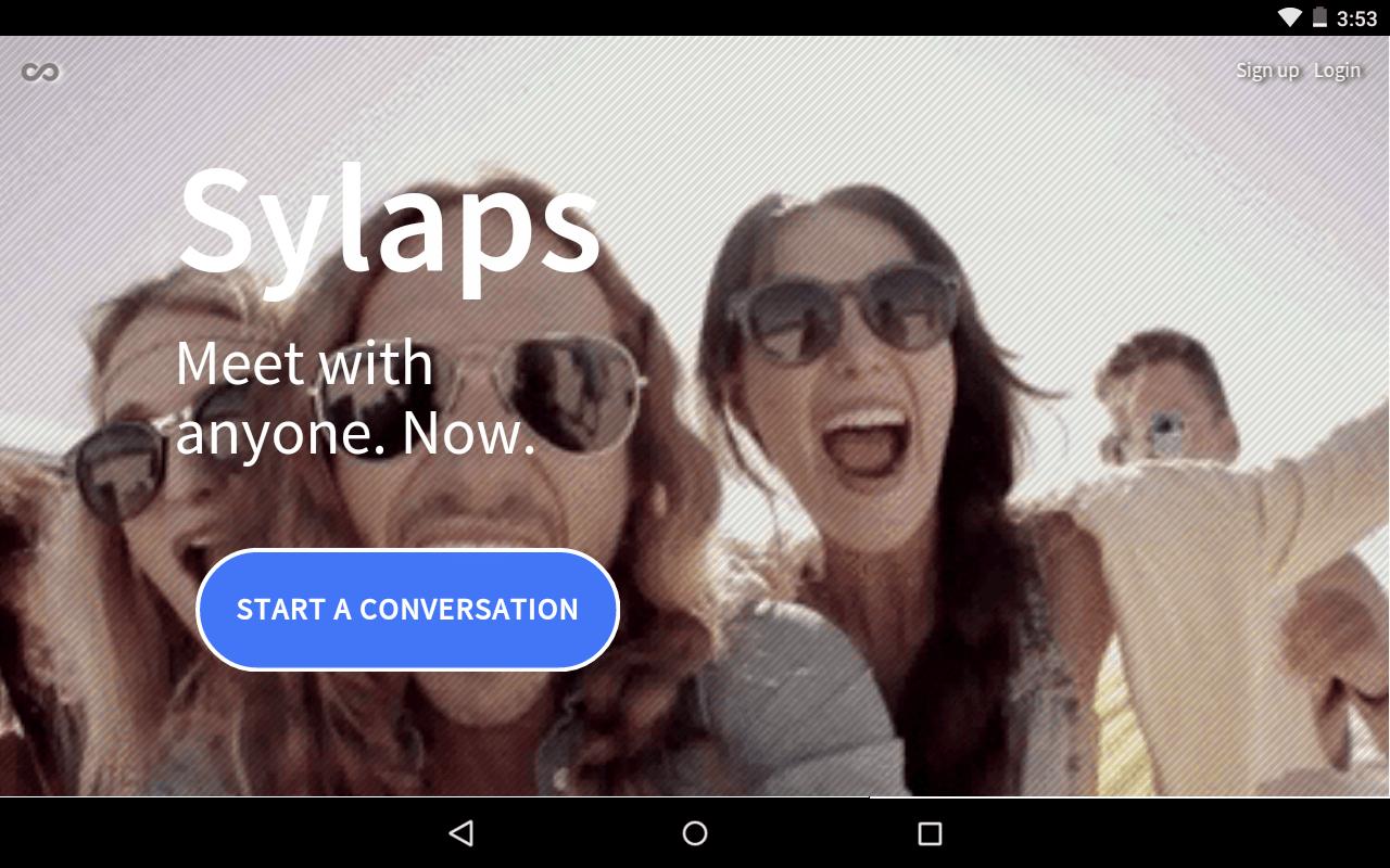 Sylaps réunion travail video