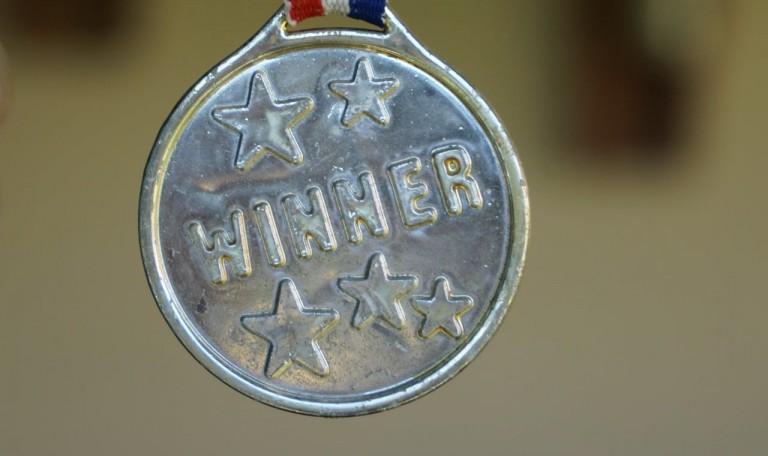 """La médaille """"winner"""""""