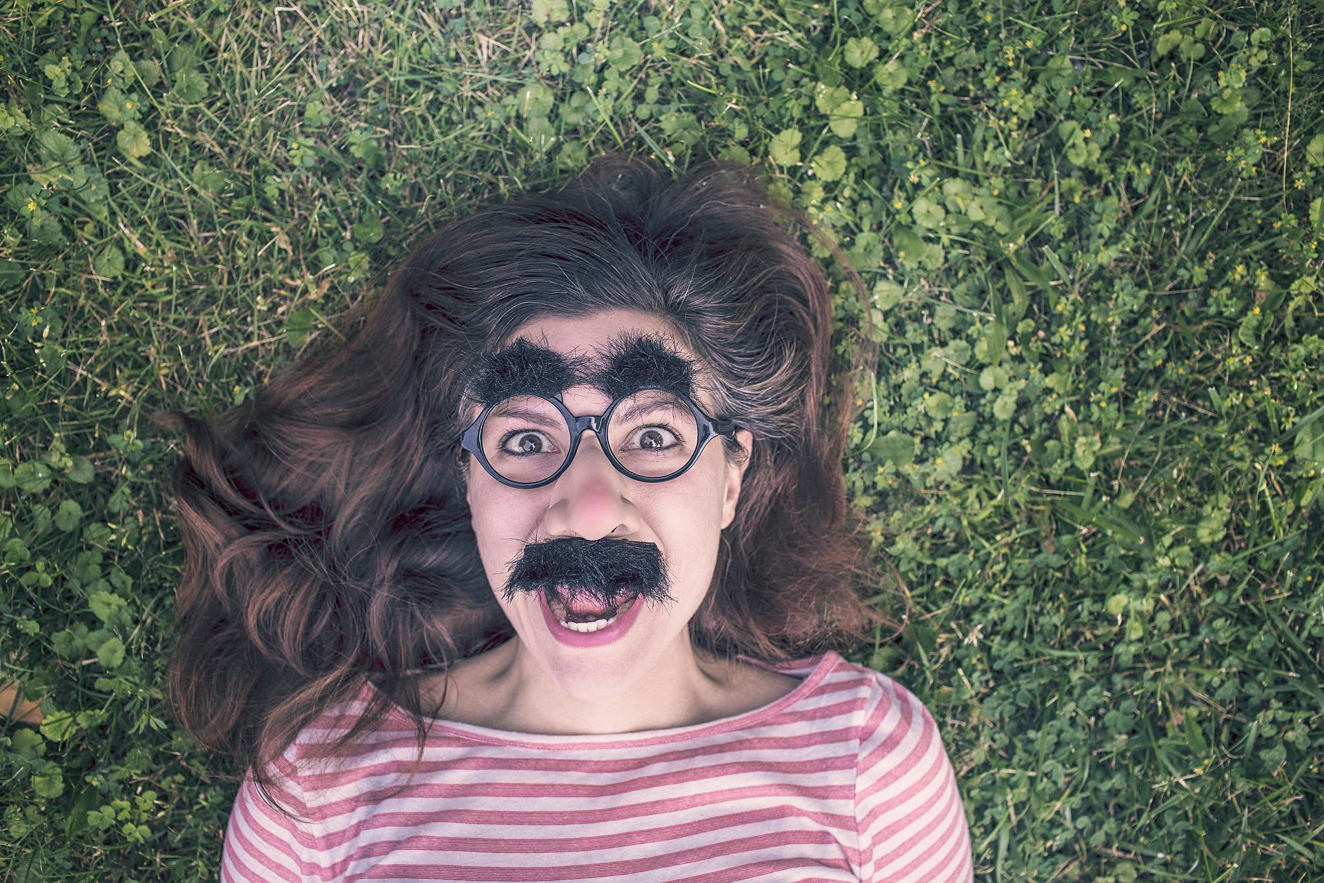 freelance moustache grimace