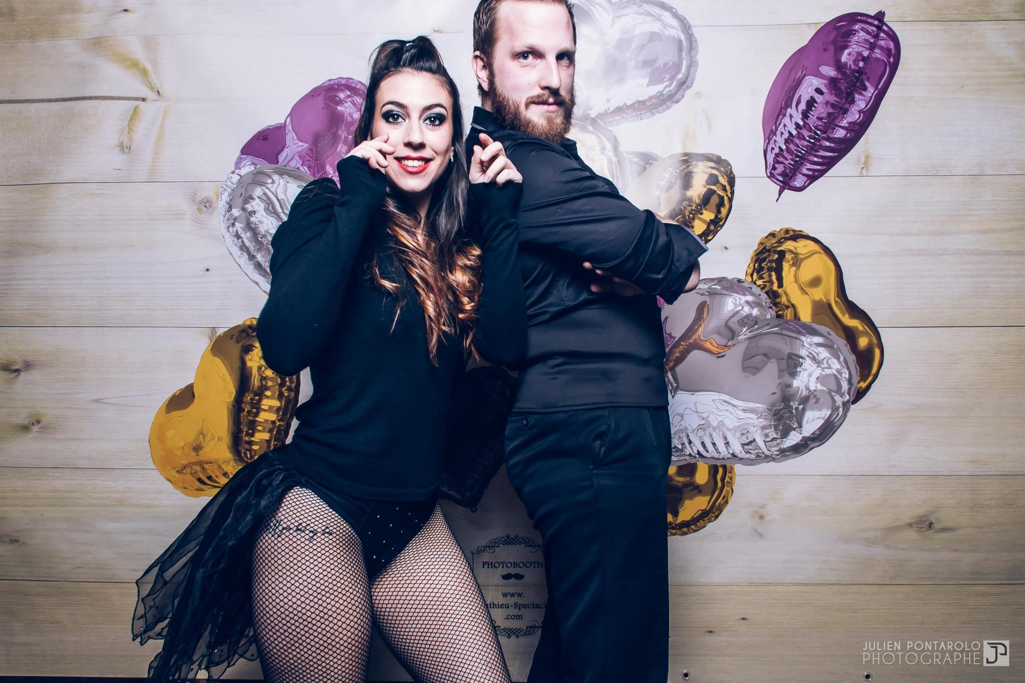 John Kissel et Pauline Lopez