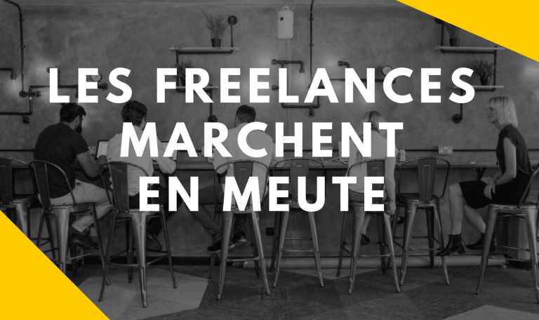 Vidéo - Les freelances marchent en meute (avec Lucie Laval)