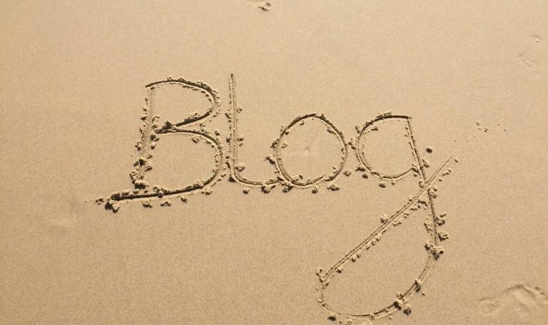 Blog dans le sable