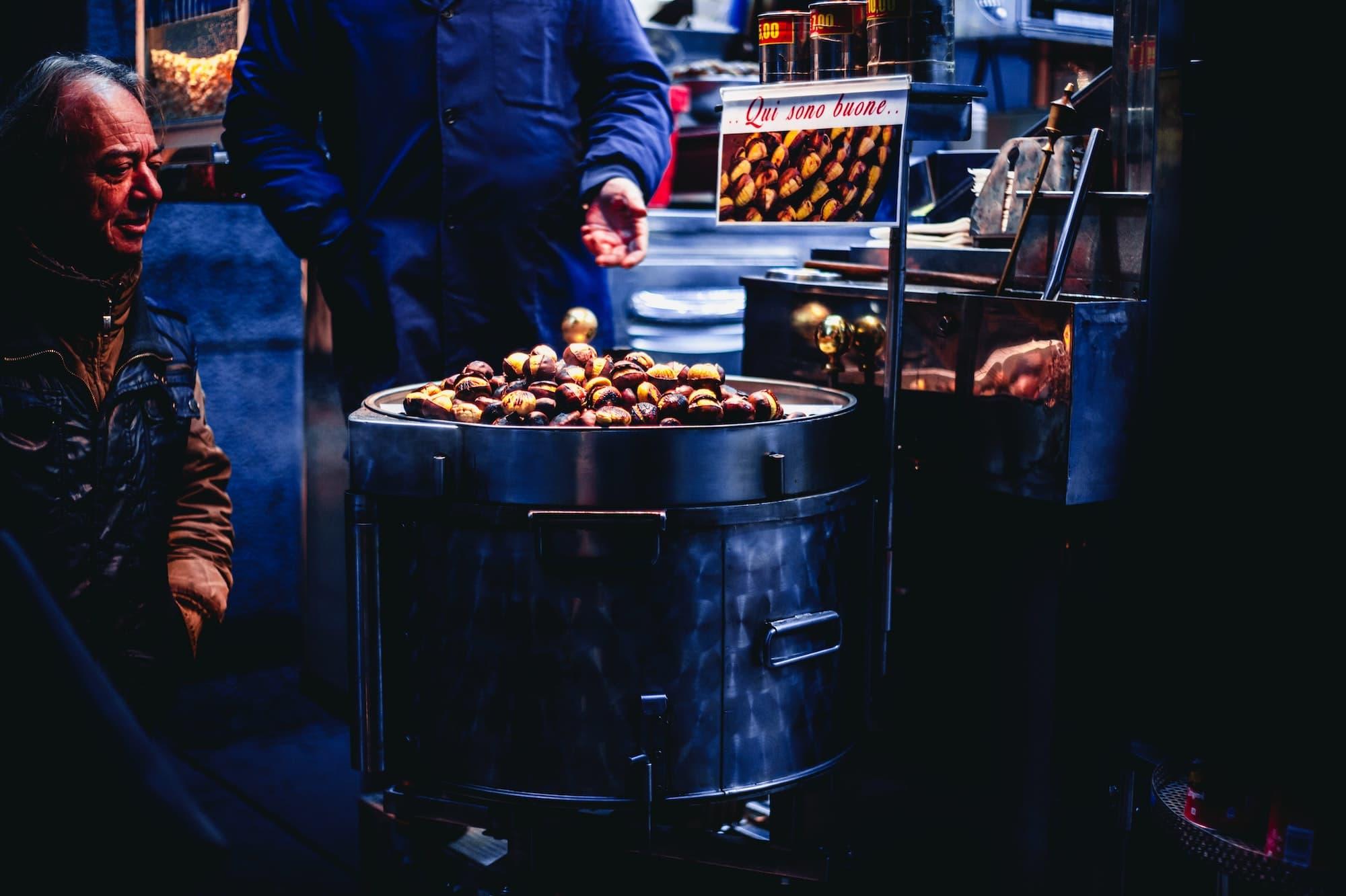marrons grillés