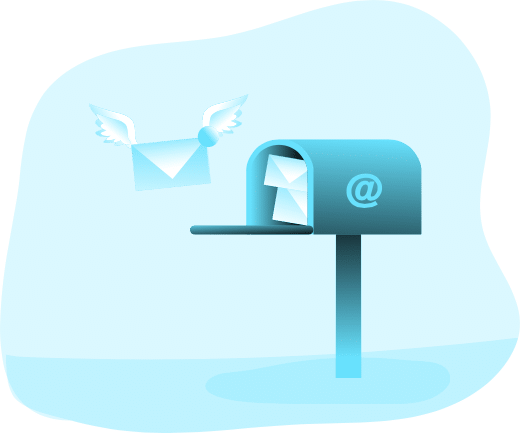 Arrivée de nouveau courrier