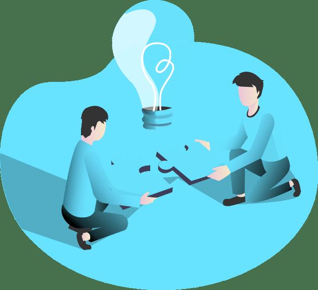 Puzzle et brainstorm